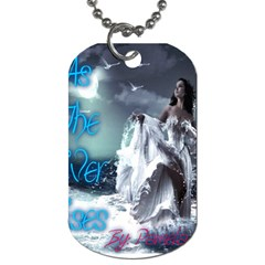 As The River Rises  Dog Tag (One Sided)
