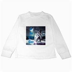 As The River Rises  Kids Long Sleeve T-Shirt