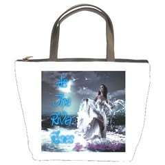 As The River Rises  Bucket Bag