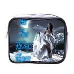 As The River Rises  Mini Travel Toiletry Bag (One Side) Front