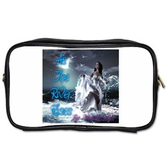 As The River Rises  Travel Toiletry Bag (Two Sides)