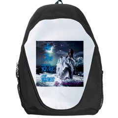 As The River Rises  Backpack Bag