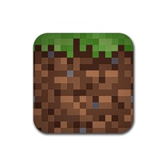 Minecraft Grass product Drink Coasters 4 Pack (Square)