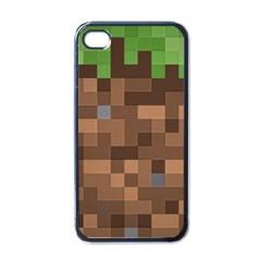 Minecraft Grass product Apple iPhone 4 Case (Black)