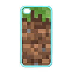 Minecraft Grass Product Apple Iphone 4 Case (color)