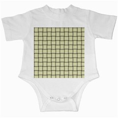 Cream Weave Infant Creeper