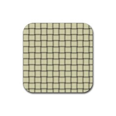 Cream Weave Drink Coasters 4 Pack (Square)