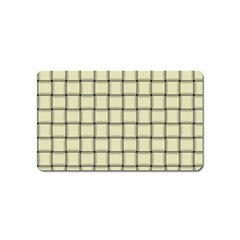Cream Weave Magnet (Name Card)