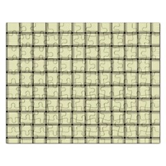 Cream Weave Jigsaw Puzzle (Rectangle)