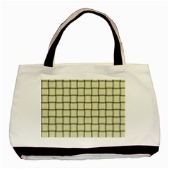 Cream Weave Classic Tote Bag