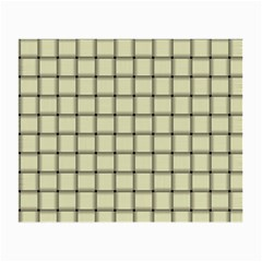 Cream Weave Glasses Cloth (Small, Two Sided)