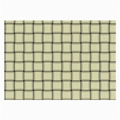 Cream Weave Glasses Cloth (large, Two Sided)