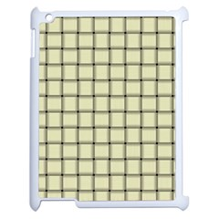 Cream Weave Apple iPad 2 Case (White)