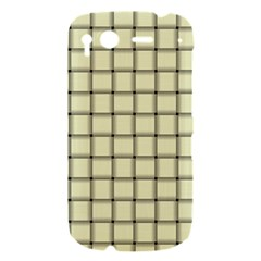 Cream Weave HTC Desire S Hardshell Case