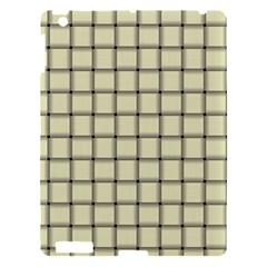 Cream Weave Apple iPad 3/4 Hardshell Case