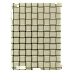 Cream Weave Apple iPad 3/4 Hardshell Case (Compatible with Smart Cover)