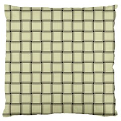 Cream Weave Large Cushion Case (One Side)