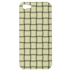 Cream Weave Apple iPhone 5 Hardshell Case