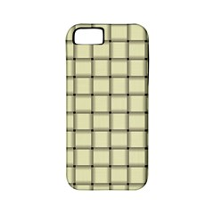 Cream Weave Apple iPhone 5 Classic Hardshell Case (PC+Silicone)