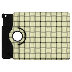 Cream Weave Apple iPad Mini Flip 360 Case