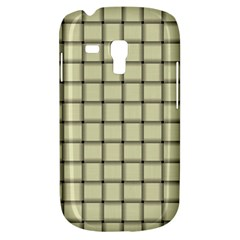 Cream Weave Samsung Galaxy S3 MINI I8190 Hardshell Case