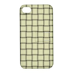 Cream Weave Apple iPhone 4/4S Hardshell Case with Stand