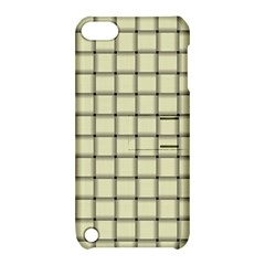 Cream Weave Apple iPod Touch 5 Hardshell Case with Stand