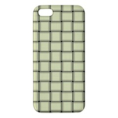 Cream Weave Iphone 5 Premium Hardshell Case