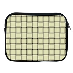 Cream Weave Apple iPad 2/3/4 Zipper Case