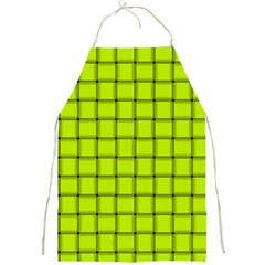 Fluorescent Yellow Weave Apron