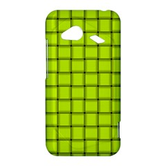 Fluorescent Yellow Weave HTC Droid Incredible 4G LTE Hardshell Case