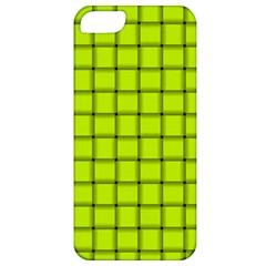 Fluorescent Yellow Weave Apple iPhone 5 Classic Hardshell Case