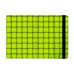 Fluorescent Yellow Weave Apple iPad Mini Flip Case