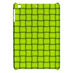 Fluorescent Yellow Weave Apple Ipad Mini Hardshell Case