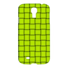 Fluorescent Yellow Weave Samsung Galaxy S4 I9500 Hardshell Case
