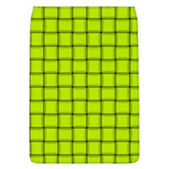 Fluorescent Yellow Weave Removable Flap Cover (Large)