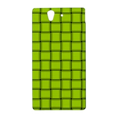 Fluorescent Yellow Weave Sony Xperia Z L36H Hardshell Case