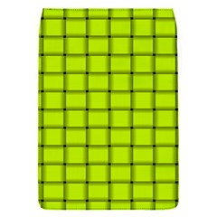 Fluorescent Yellow Weave Removable Flap Cover (Small)