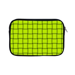 Fluorescent Yellow Weave Apple Ipad Mini Zipper Case