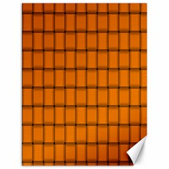 Orange Weave Canvas 12  x 16  (Unframed)