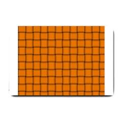 Orange Weave Small Door Mat