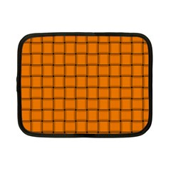 Orange Weave Netbook Case (Small)