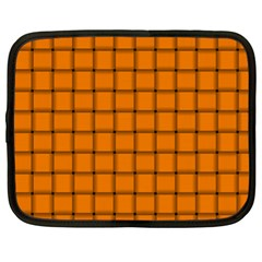 Orange Weave Netbook Case (xl)