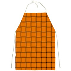 Orange Weave Apron