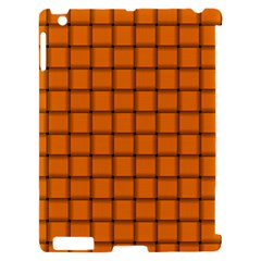Orange Weave Apple iPad 2 Hardshell Case (Compatible with Smart Cover)