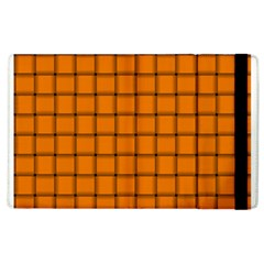 Orange Weave Apple iPad 2 Flip Case