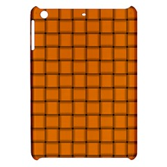 Orange Weave Apple Ipad Mini Hardshell Case