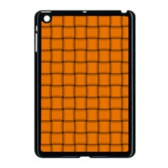Orange Weave Apple iPad Mini Case (Black)