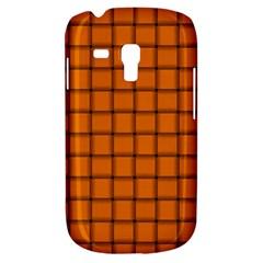 Orange Weave Samsung Galaxy S3 MINI I8190 Hardshell Case