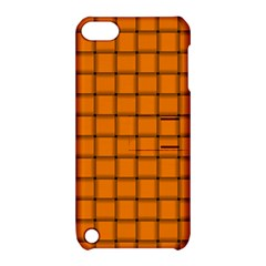 Orange Weave Apple iPod Touch 5 Hardshell Case with Stand